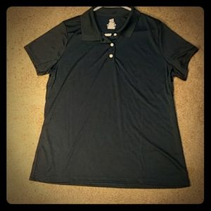 Black polo NWOT